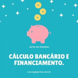 cálculo bancário e financiamento